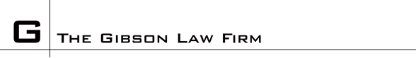 The Gibson Law Firm